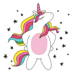 Unicorn Fun Emoji Stickers
