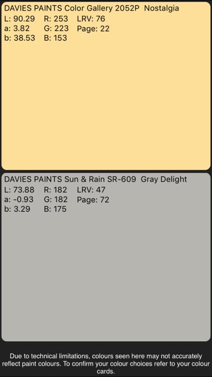 Davies Colorgram screenshot-4