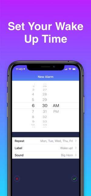 best free alarm clock app for iphone 4s