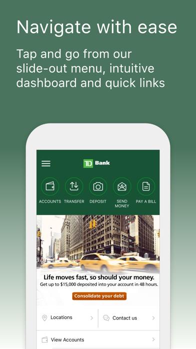 Td Bank (us) review screenshots