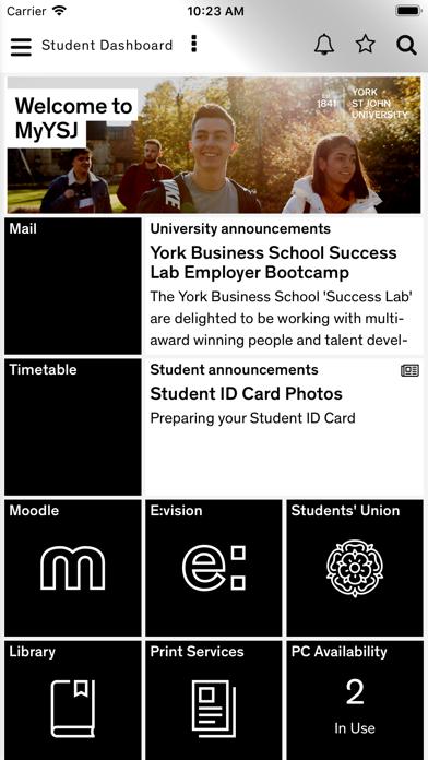 MyYSJ screenshot 1