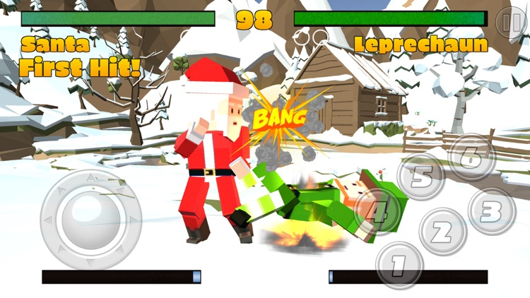 Pixel Fighting 3D screenshot-4