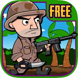 Soldier at War Free: Awesome Jungle Battle