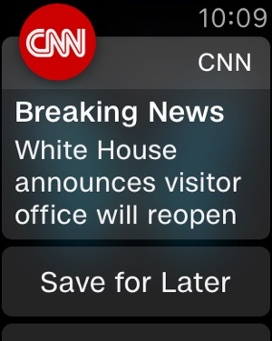 CNN: Breaking US & World News on the App Store