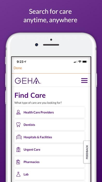 GEHA screenshot-3