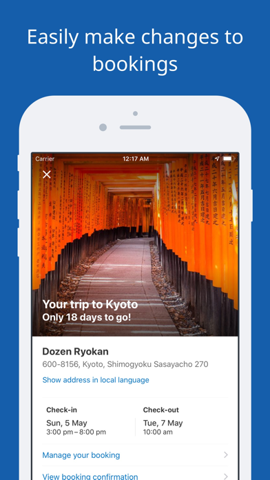 Screenshot for Booking.com Travel Deals in New Zealand App Store