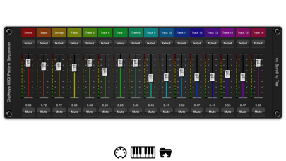 DigiKeys AUv3 Sequencer Plugin screenshot 2