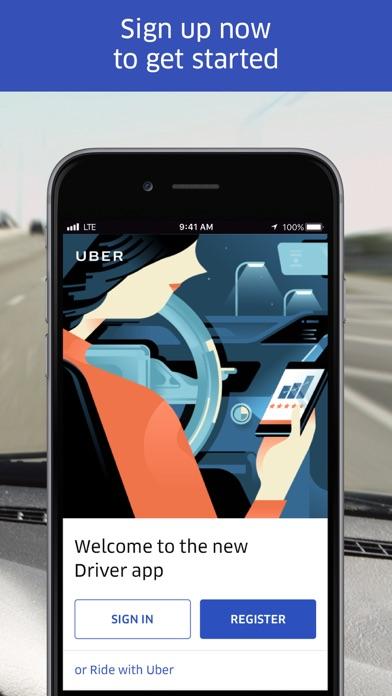Uber Driver app image