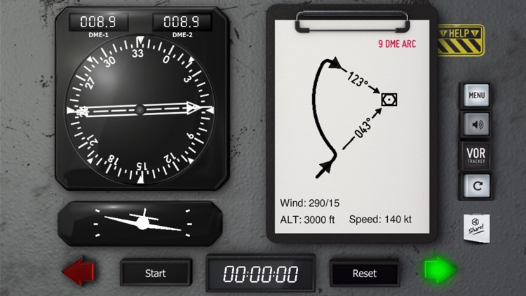 VOR Tracker - IFR Nav Trainer screenshot-3