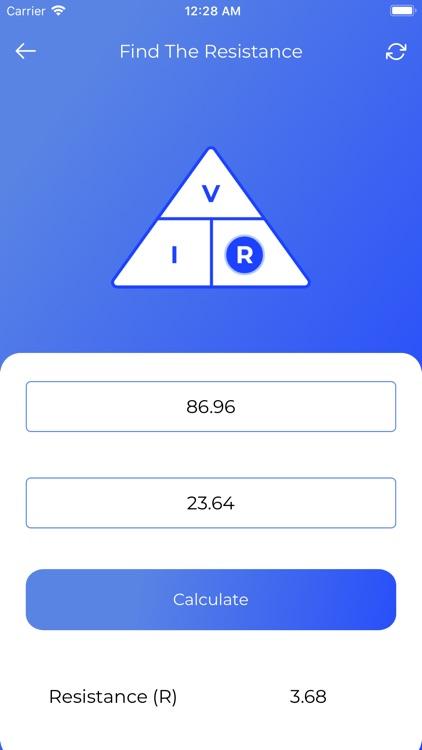 OHMS Law Calculator screenshot-4