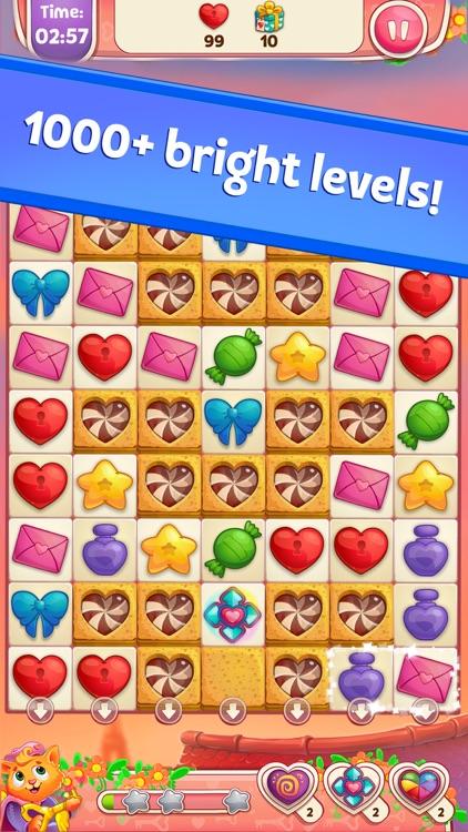 Sweet Hearts Match 3 screenshot-4