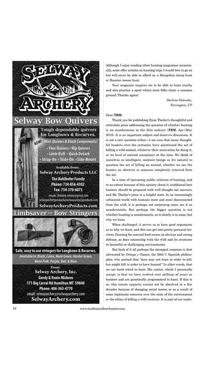 Traditional Bowhunter Magazine screenshot-4