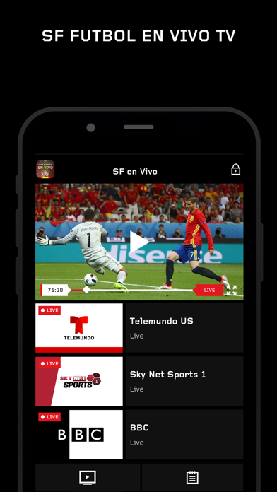 Spain LaLiga TV Live Stream SF by Media Networks Group (iOS