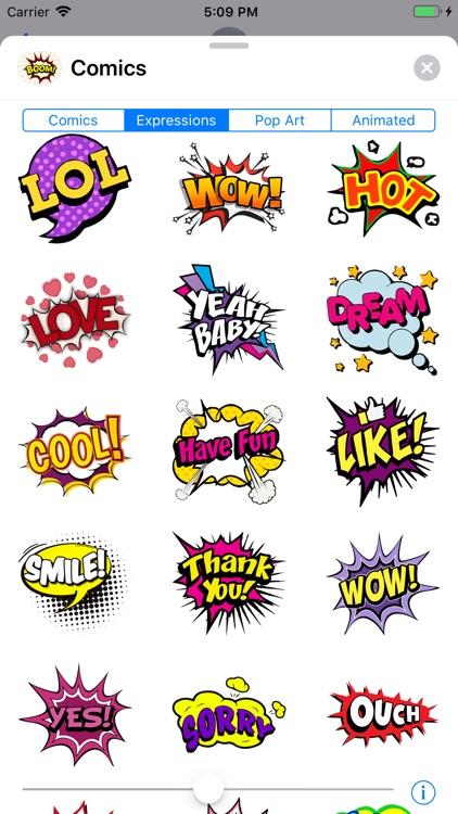 Comics Pop Art Sticker Effects screenshot-5