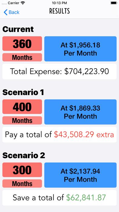 Debtor Debt Pay Off CalculatorScreenshot of 3