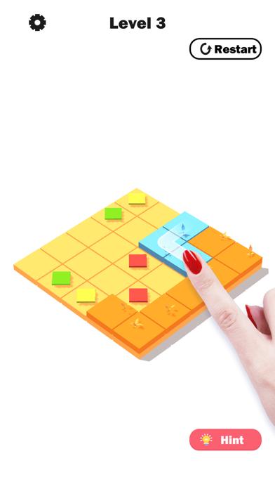 Flower Link -Color Fill Puzzle screenshot 2