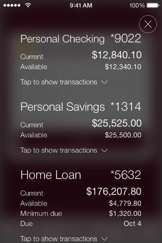 Mechanics Bank Mobile Banking - náhled
