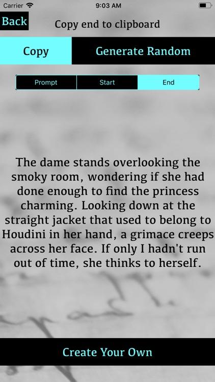Random Prompt and Character screenshot-3