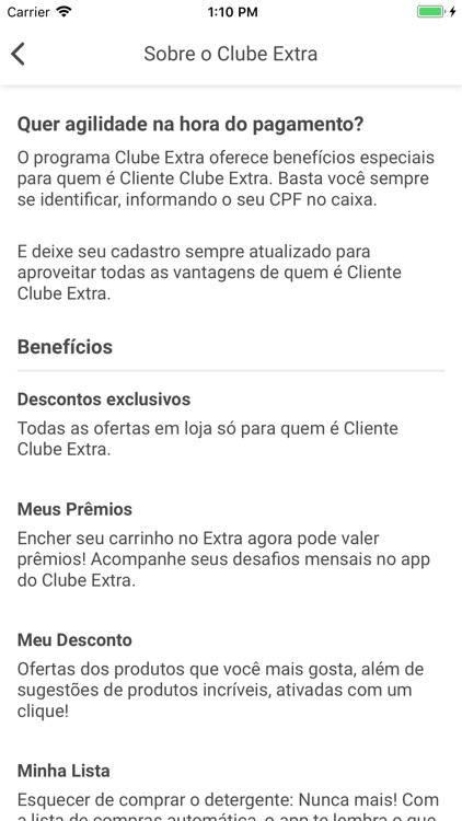 Clube Extra screenshot-6