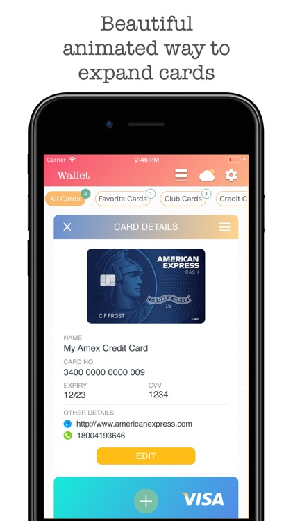 Wallet Pro - Credit Wallet screenshot-2