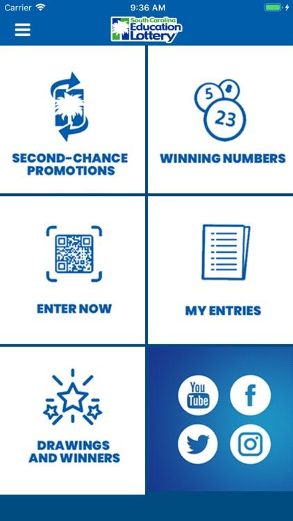 SC Lottery App