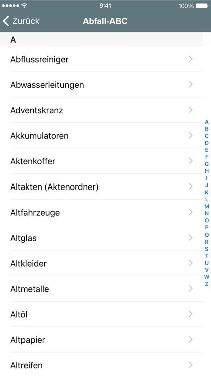 Abfall App VR screenshot-3