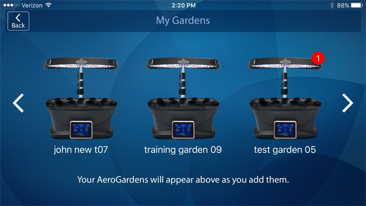 AeroGarden Wi-Fi screenshot-2