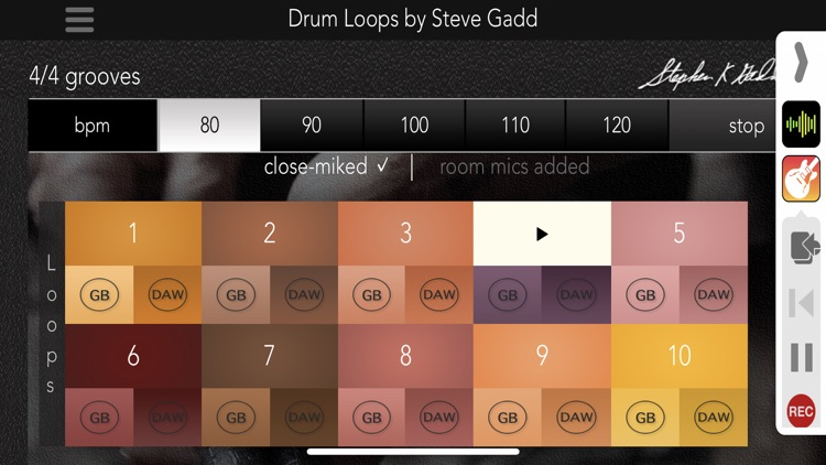 Drum Loops by Steve Gadd screenshot-4
