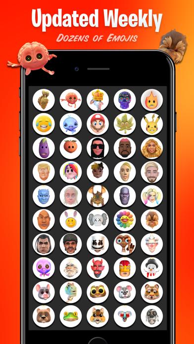 INCREDIMOJI Celebrity FaceSwap Screenshot
