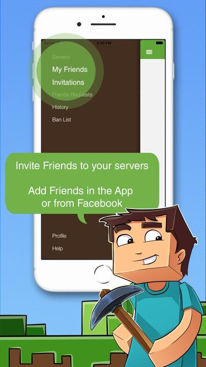 Multiplayer for Minecraft PE screenshot-5