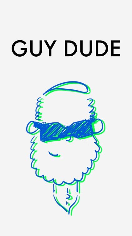 Guy Dude Sticker Pack