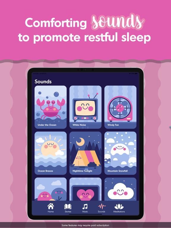 Budge Bedtime Stories & Sounds screenshot 12