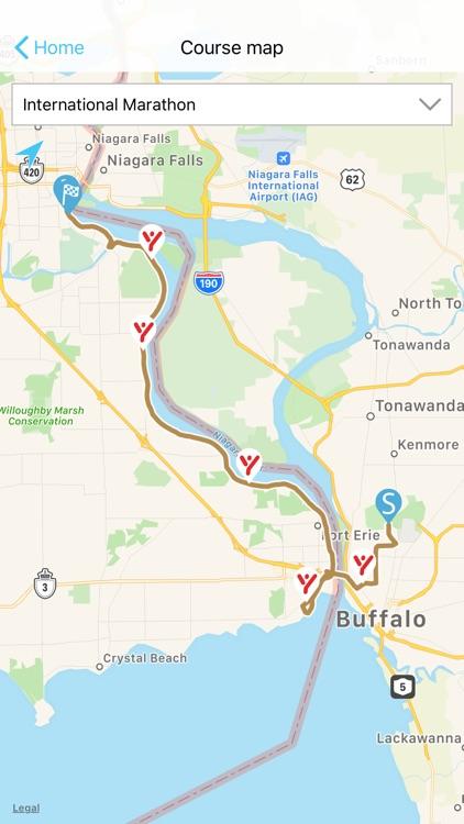 Niagara Falls Marathon screenshot-3