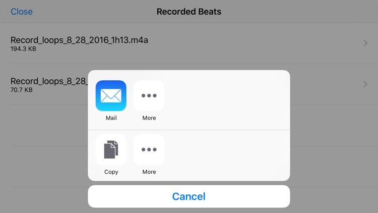 Rap Beat Maker for iPhone screenshot-4