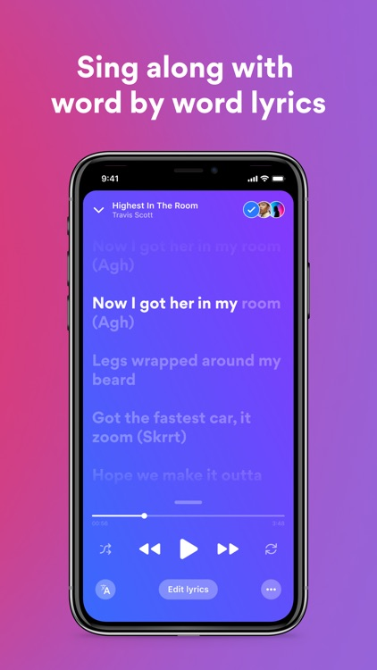 Musixmatch Lyrics Finder screenshot-3