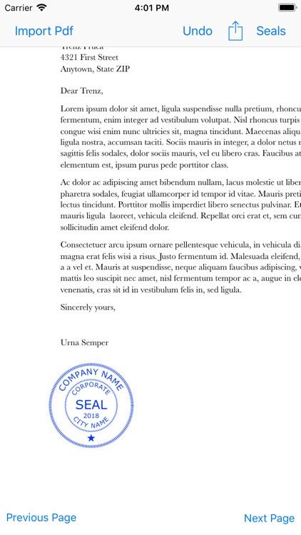 Company Seals screenshot-5
