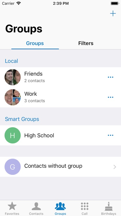 ContactsXL screenshot-1