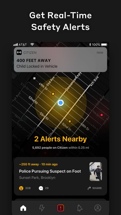 Citizen: Connect and Stay Safe screenshot 1