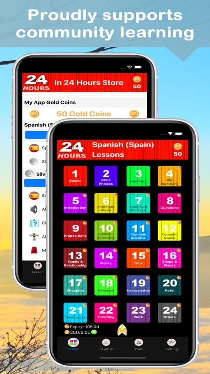 In 24 Hours Learn Spanish screenshot-0