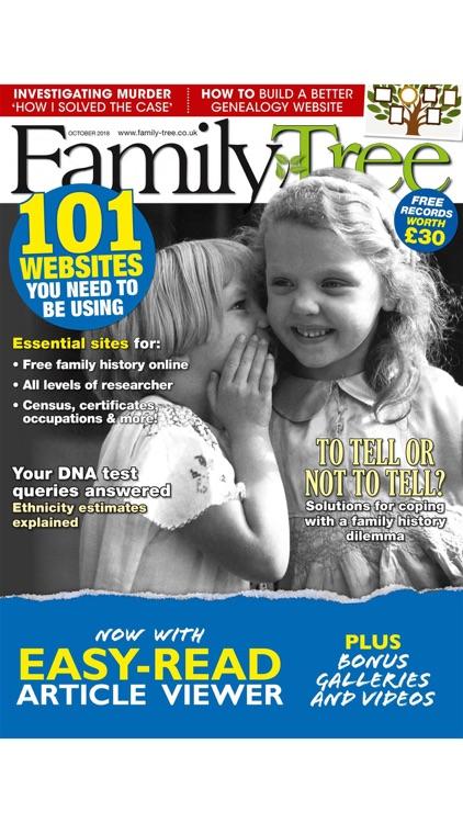 Family Tree Magazine. screenshot-8