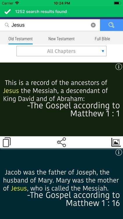 Holy Bible in Amharic Offline screenshot-3