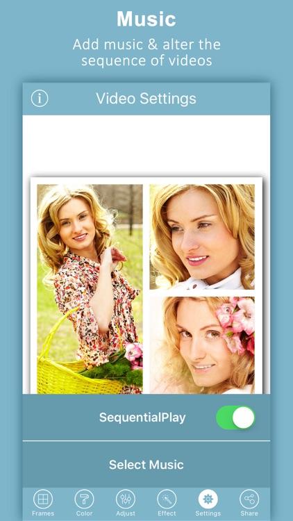 Video Collage Pro - Editor screenshot-3