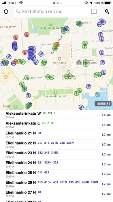 Stop Map Helsinki