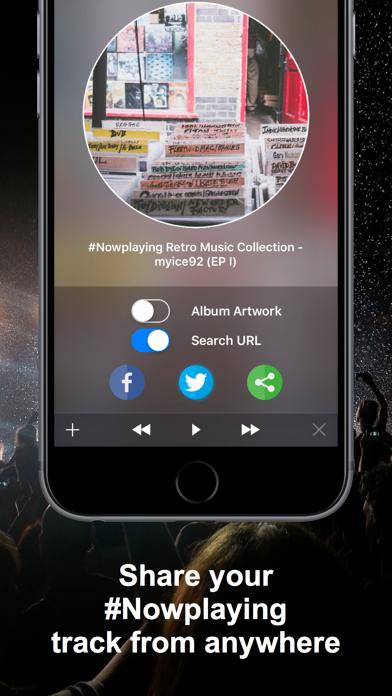 Screenshot #1 pour #Nowplaying - Tweet Your Music