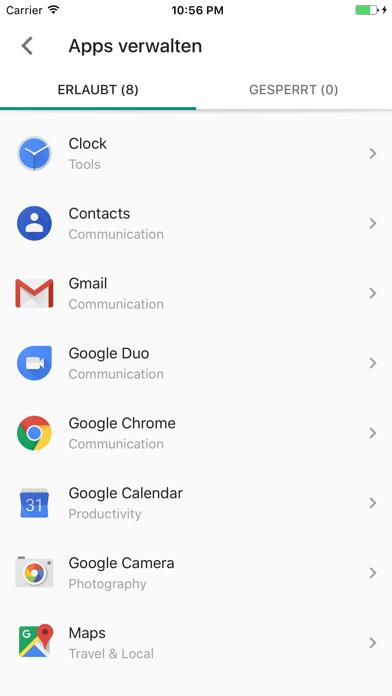 Screenshot for Google Family Link für Eltern in Germany App Store