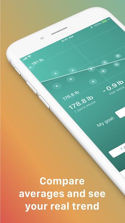 Scelta: Track my weight screenshot-0