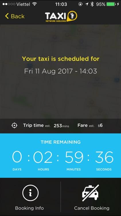 Geelong Taxi Network screenshot-3