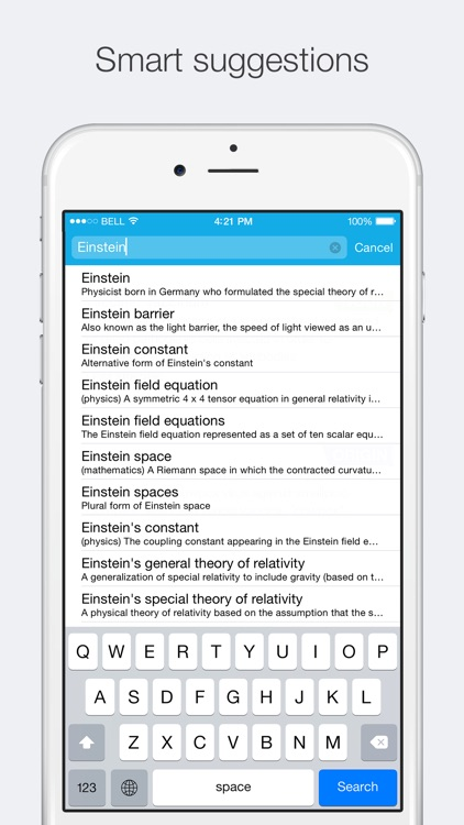 Concise English Dictionary screenshot-3