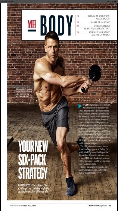 Screenshot for Men's Health Magazine in Peru App Store