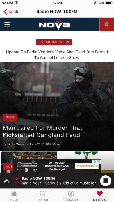 Irish Radioplayer screenshot two